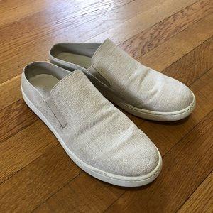 [Vince] Natural Canvas Slip On Sneaker